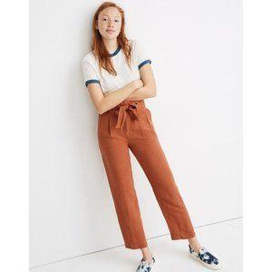 Madewell | NWT Linen-Blend Paperbag Pants